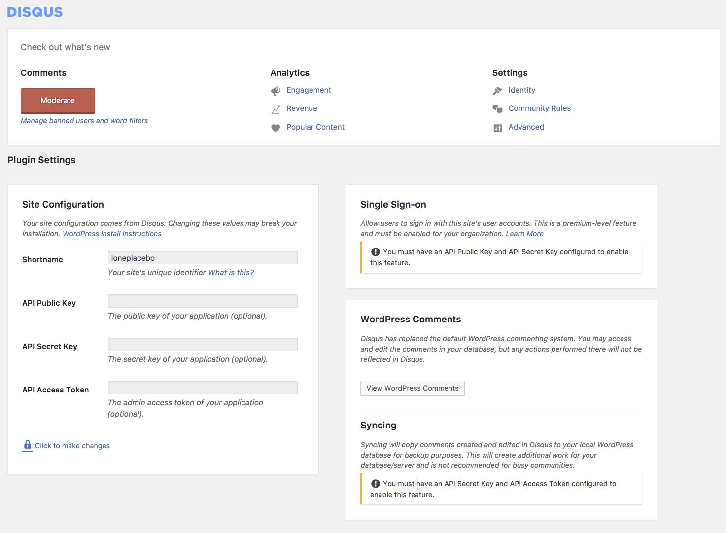disqus-wordpress=plugin-settings-page.png