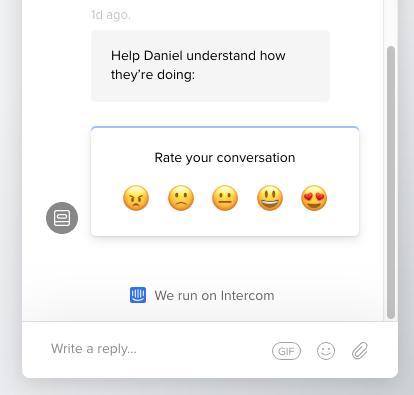 rate conversation