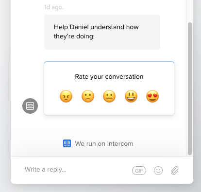rate conversation