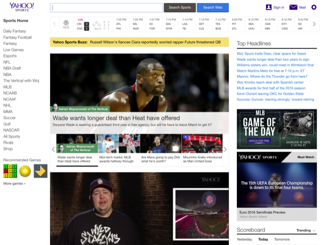 vote the top 7 best sports websites